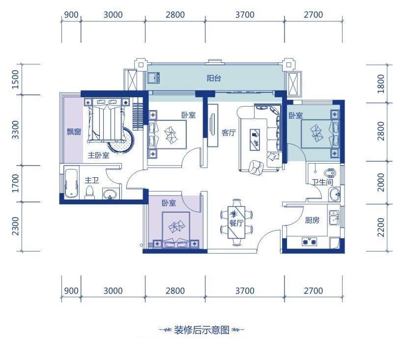 33#楼D-05户型