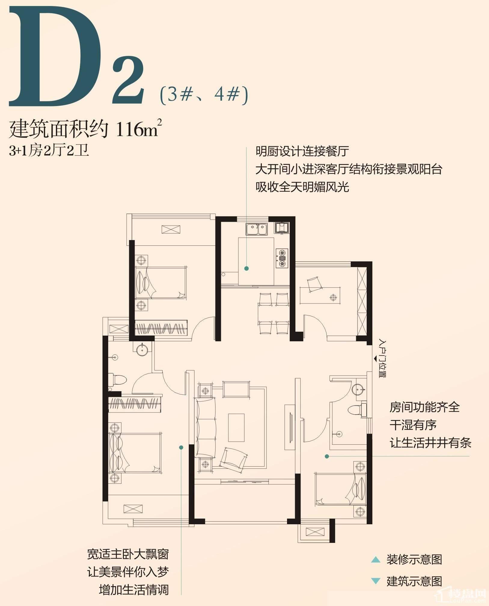 D2户型(3#、4#)
