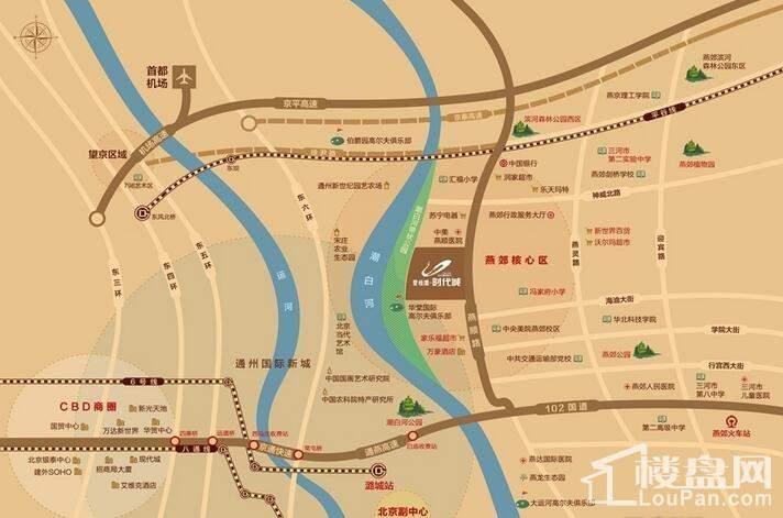 碧桂园时代城 位置图