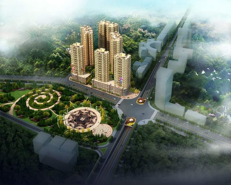 隆成·城市之星效果图