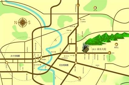 恒立南岳大院位置图