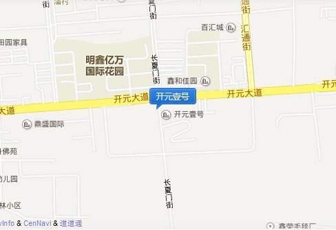 开元壹号位置图