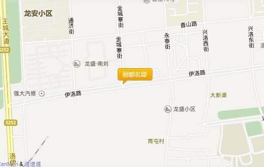 智杰·丽都名邸位置图