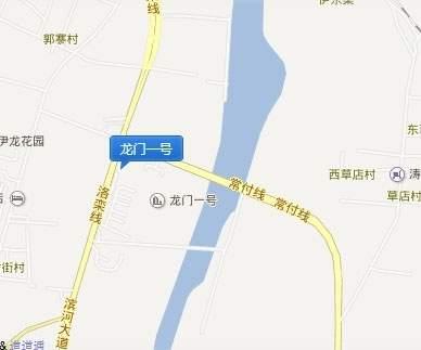 龙门一号位置图