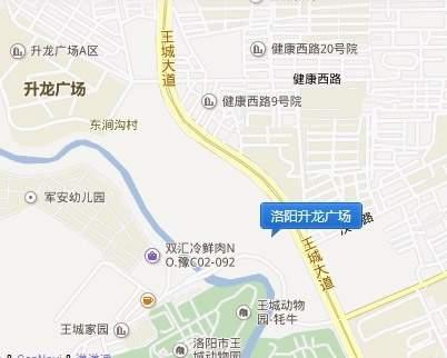 升龙广场位置图