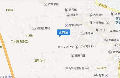 正商城位置图
