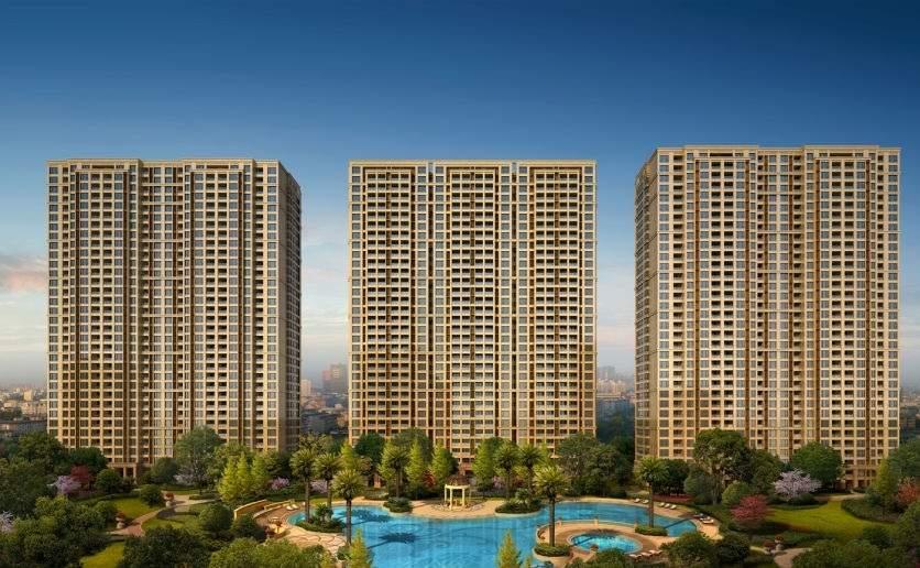 中国铁建江南国际城效果图