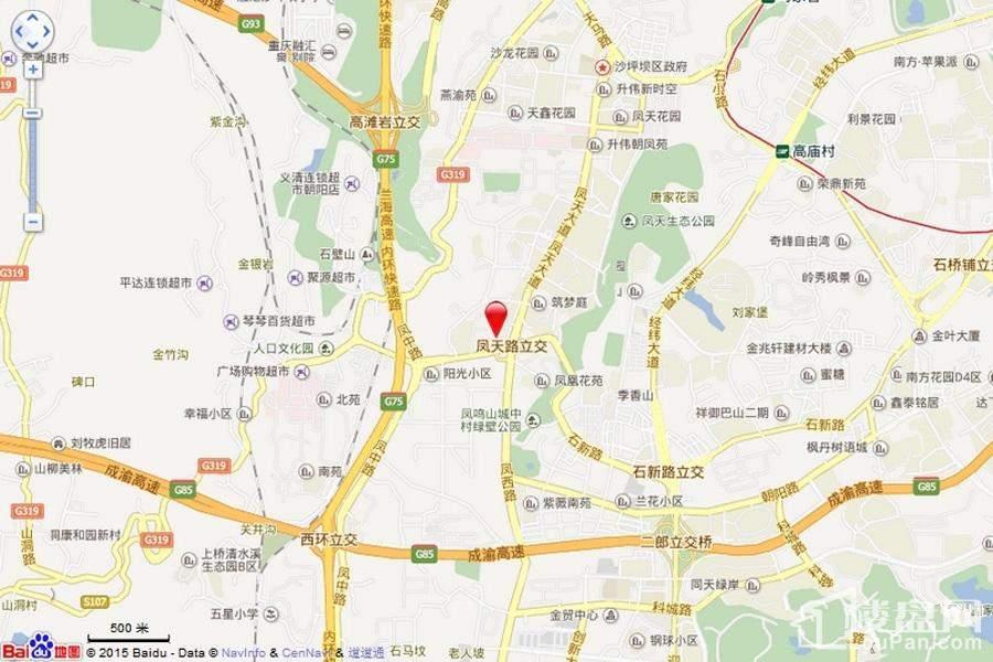 君和凤鸣广场区位图