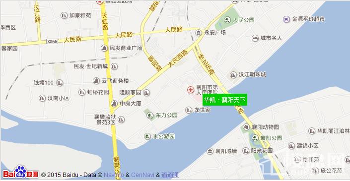 华凯·襄阳天下位置图