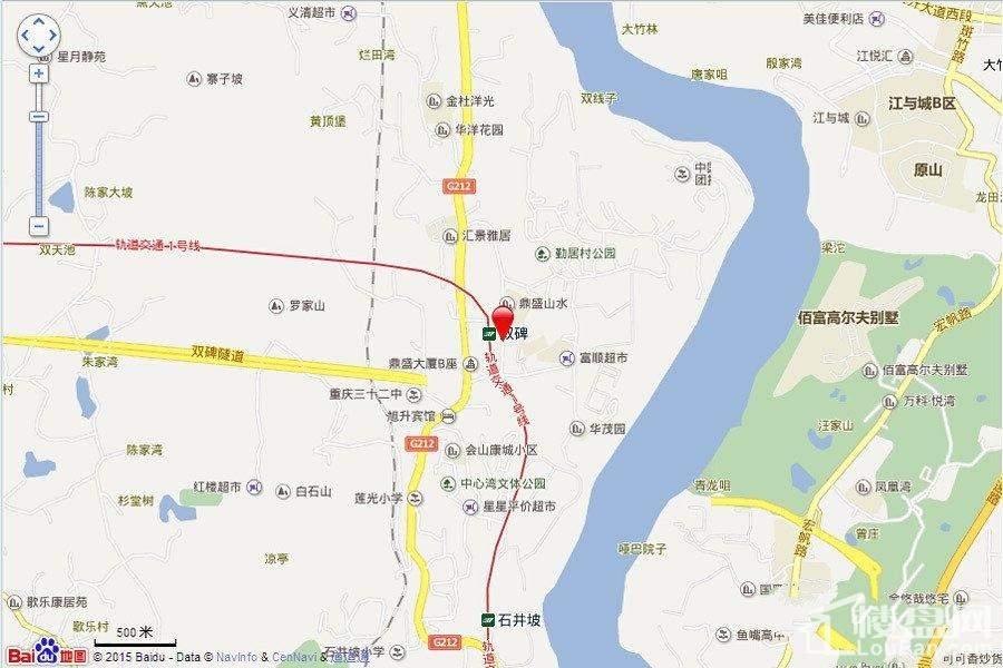 华宇温莎小镇 区位图