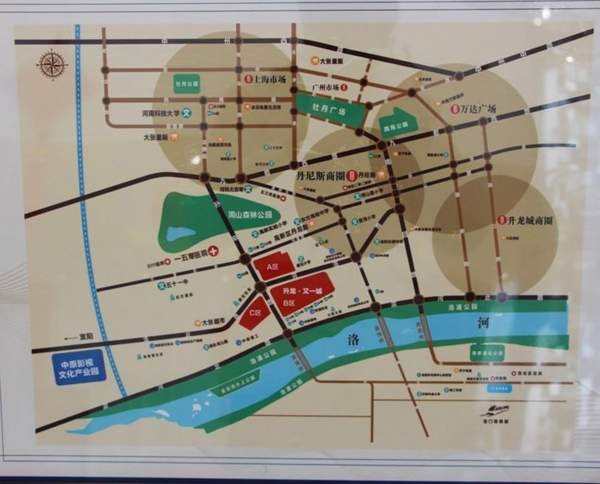升龙又一城位置图