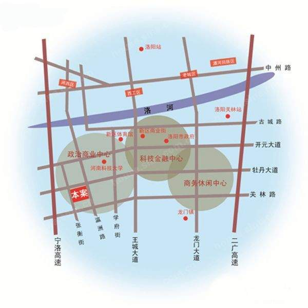 SOHO国际广场位置图