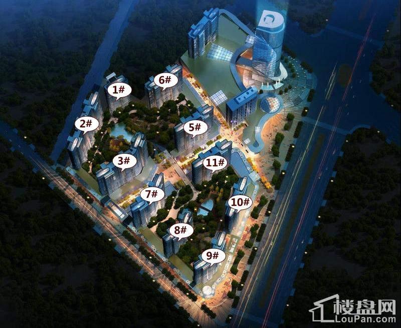 大曌国际广场效果图