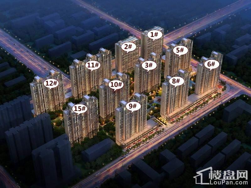 建业·华阳峰渡效果图