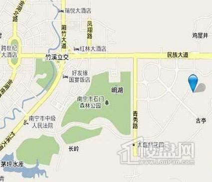 金菲豪园位置图