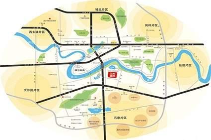 江悦蓝湾位置图
