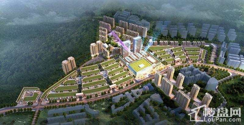 黔中国际商贸博览城效果图