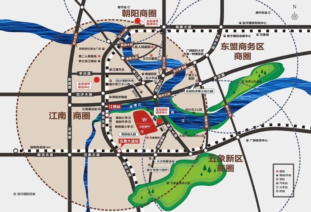 金悦澜湾位置图