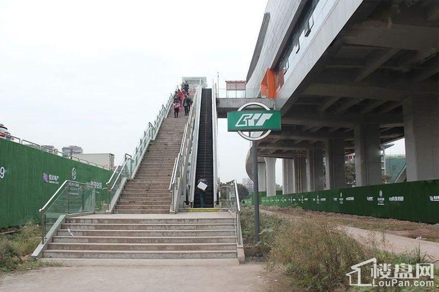 信达滨江蓝庭周边石井坡轻轨站