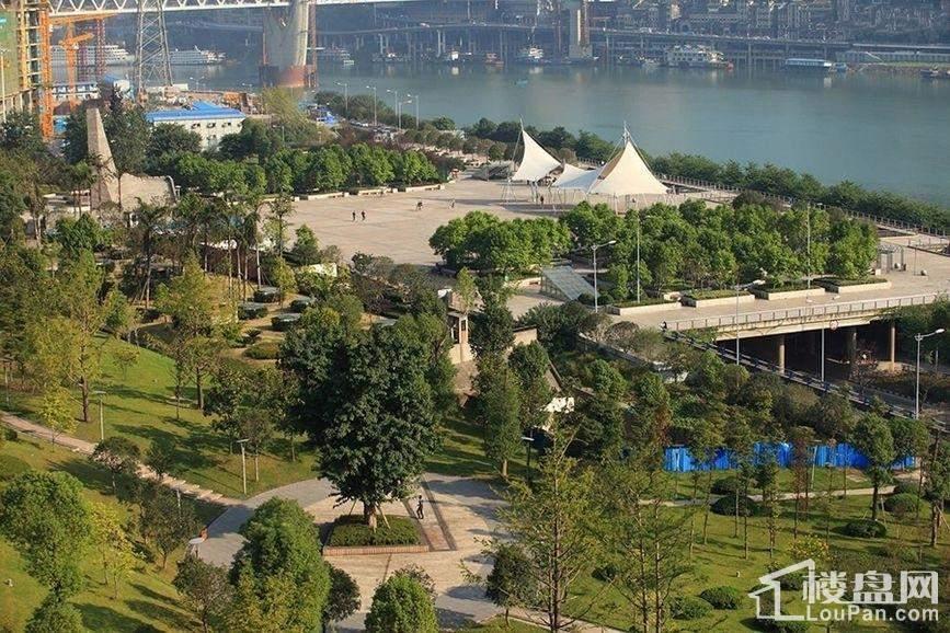 龙湖春森彼岸周边中央公园