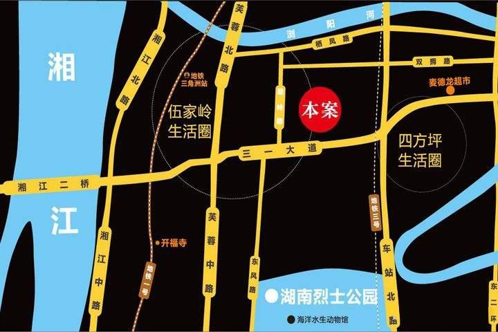 上林公馆位置图
