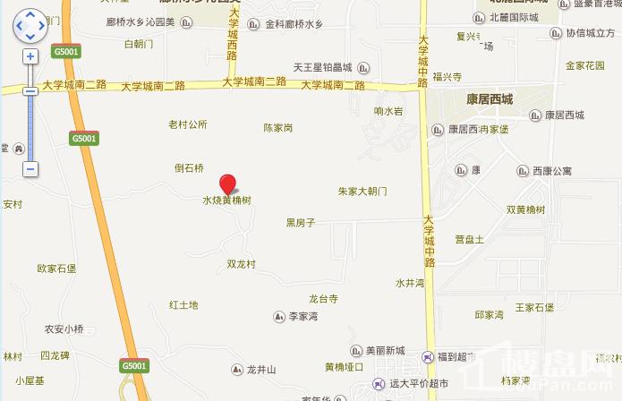 金阳第一农场大学城位置图
