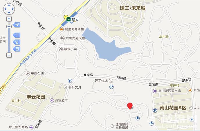 尚格锦园位置图