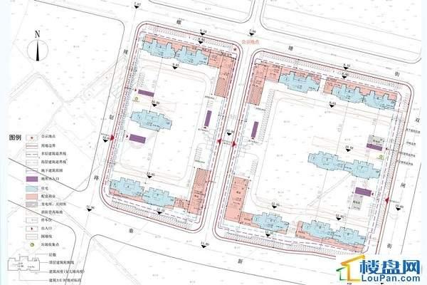 鲁能公馆位置图