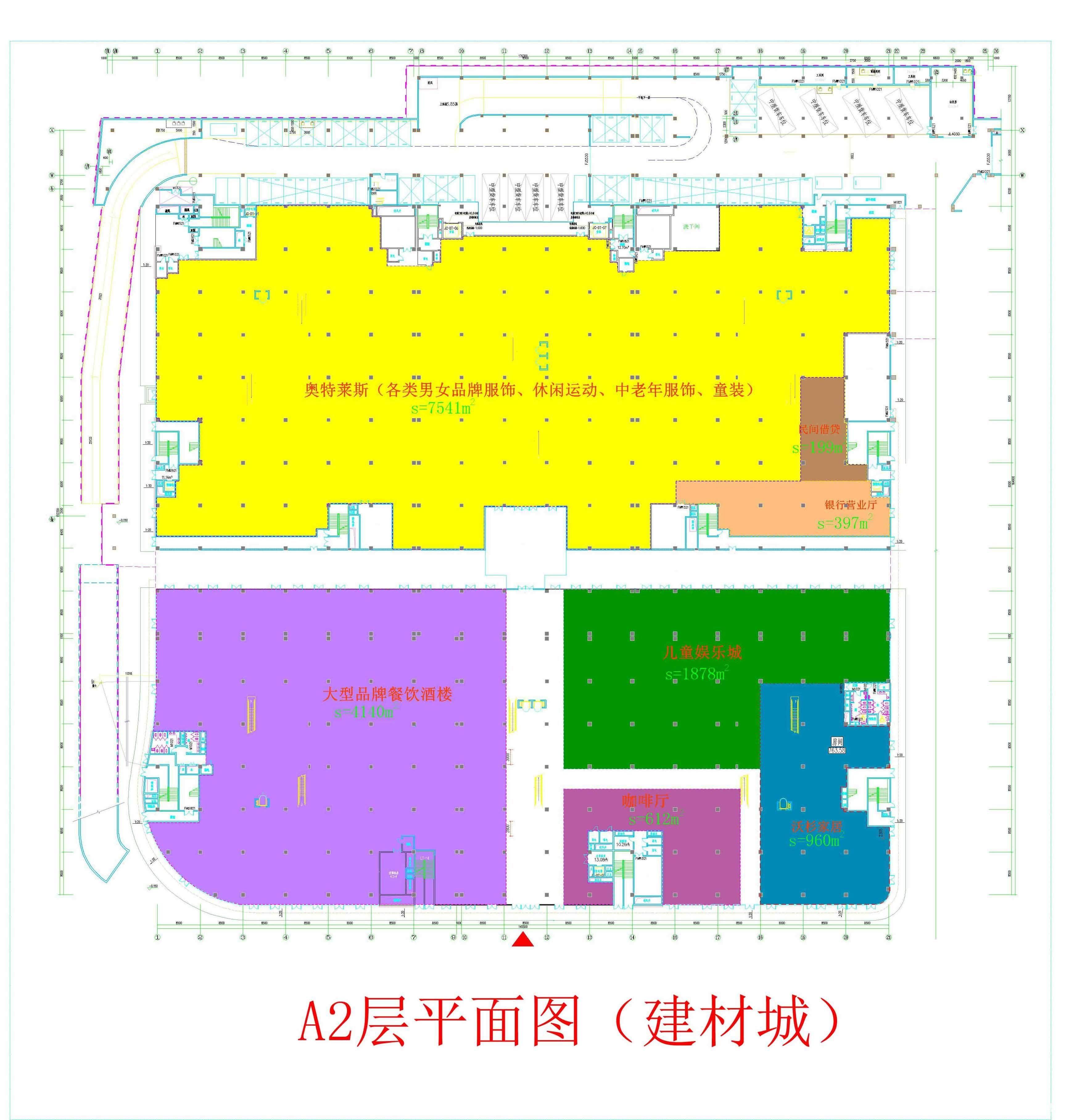 农村大街设计平面图