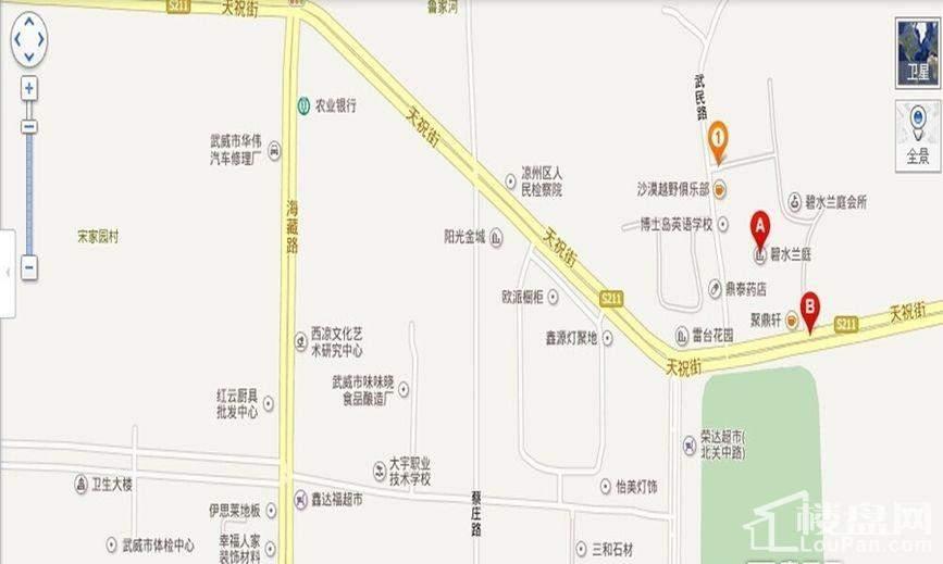 碧水兰庭位置图