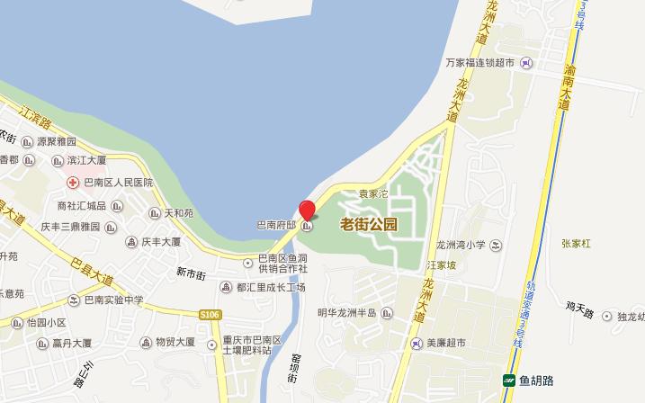 巴南府邸位置图