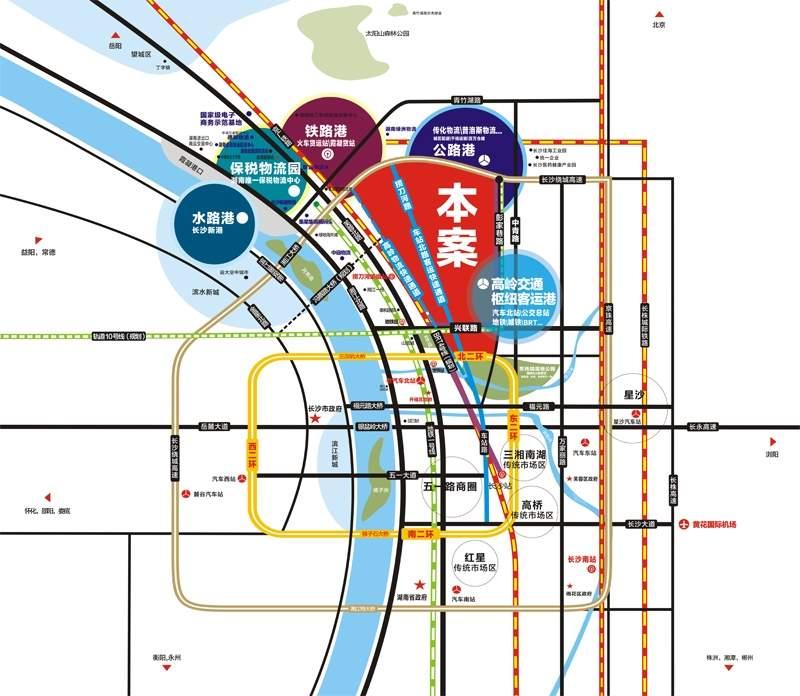 高岭国际商贸城位置图