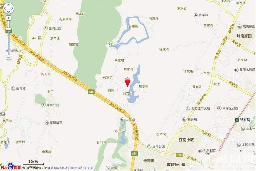 中交漫山交通图