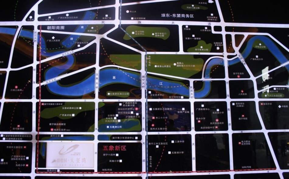 碧桂园天玺湾位置图