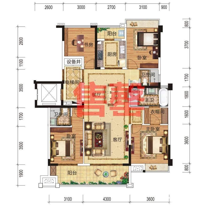 17#、18#典雅之家户型
