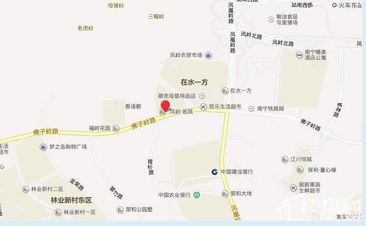 吉祥凤景湾区位图