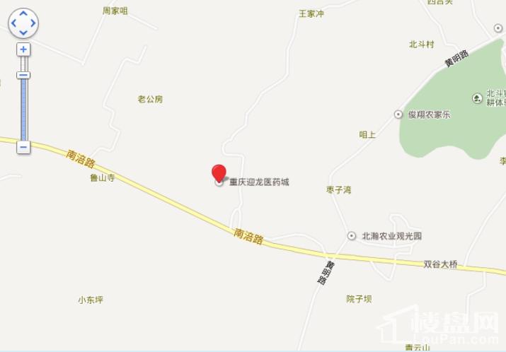 重庆迎龙医药城位置图