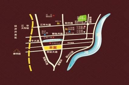 双龙·幸福城位置图