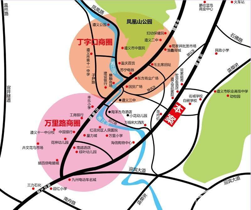 首座·汇金广场位置图