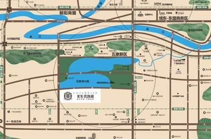 龙光玖珑湖位置图