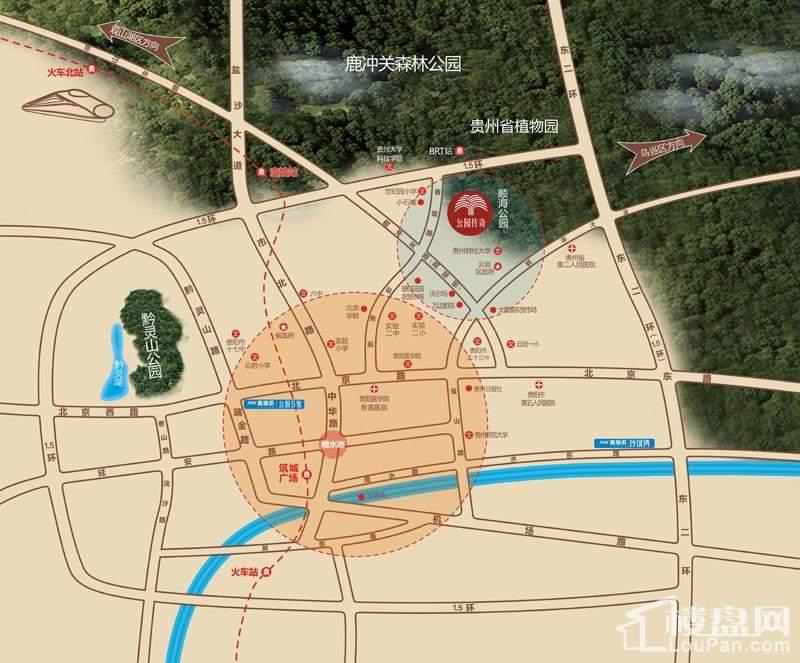 万科·公园传奇位置图