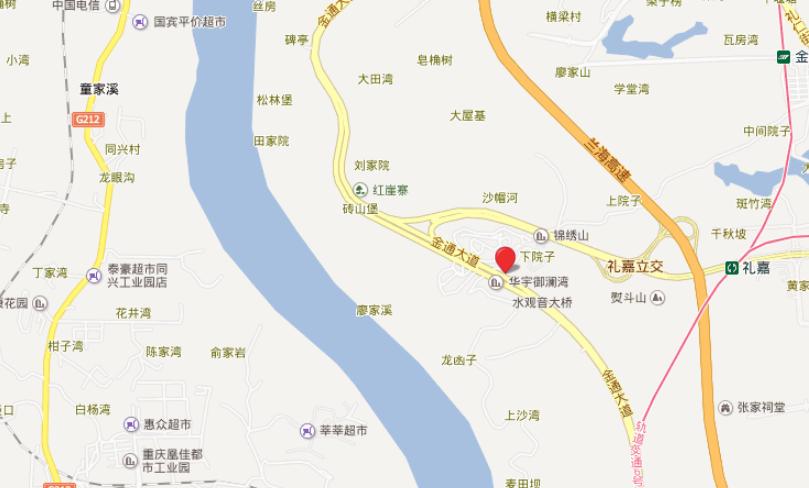 华宇御澜湾位置图