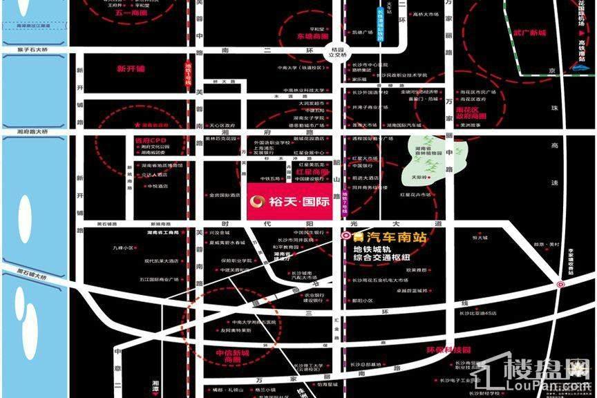 裕天国际商汇中心位置图