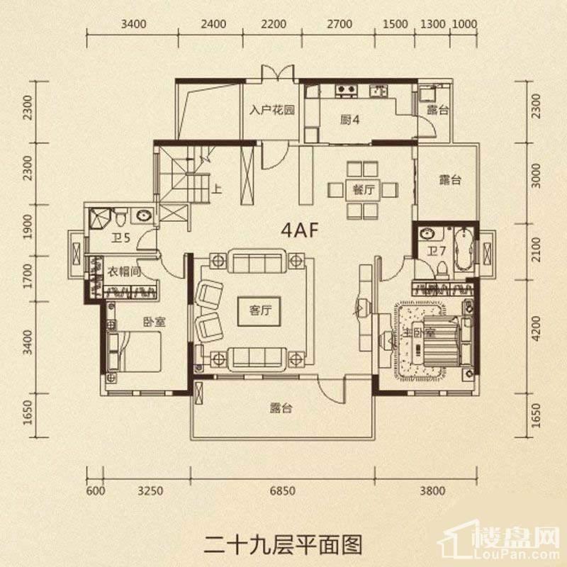 鼎峰公园豪庭户型图