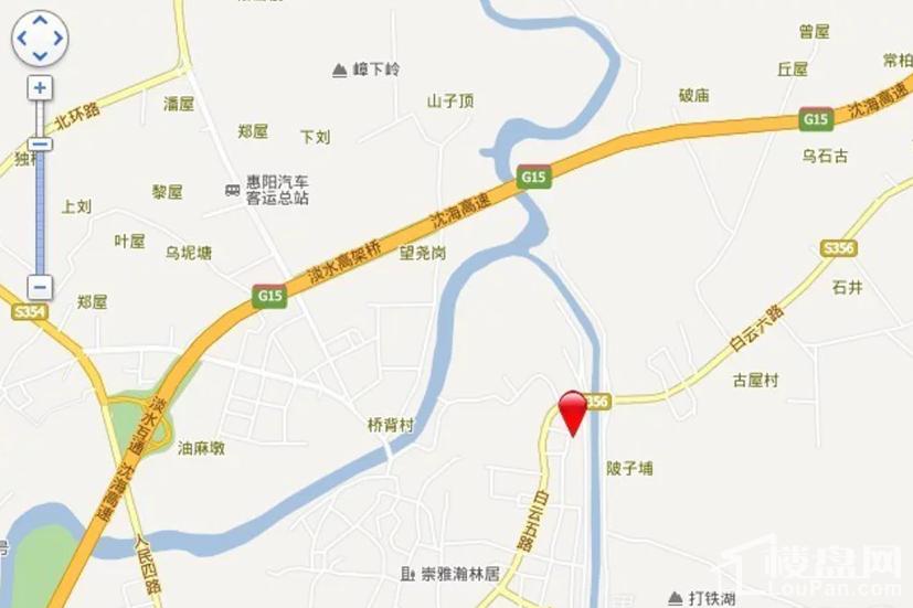 府河名居 位置图