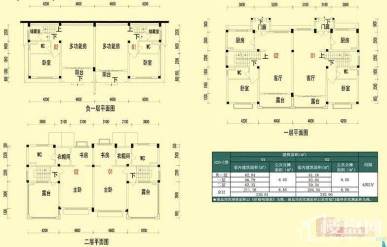 翠林清溪H20-C户型