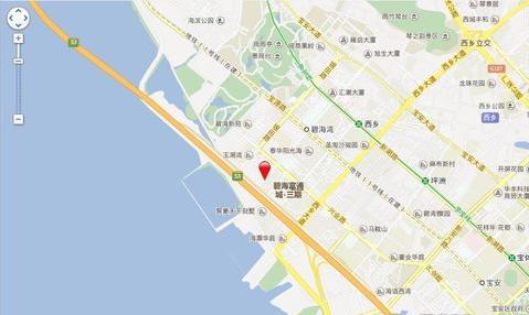 华丰前海湾位置图