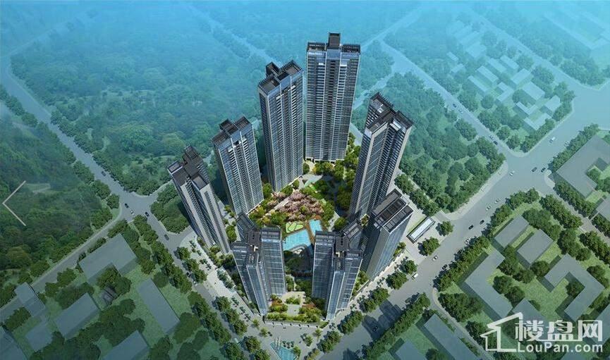 华联·城市全景效果图