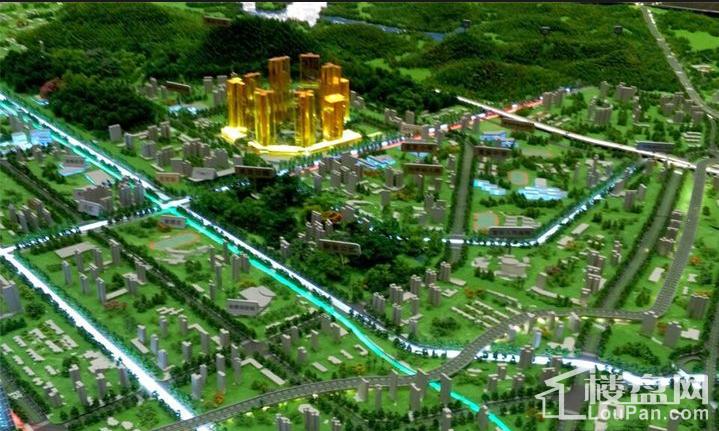 华联·城市全景实景图