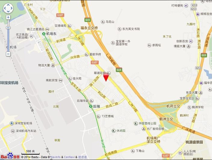 天福华府位置图